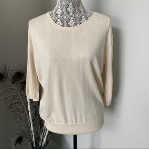 ARITZIA Wilfred Sweater with Silk and Cashmere SM
